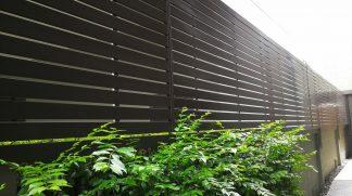 panelowe ogrodzenie posesyjne